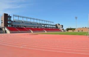 Track field at York University